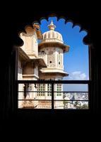 palácio da cidade de rajasthan foto