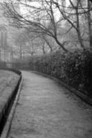 caminho público em oxford Inglaterra foto
