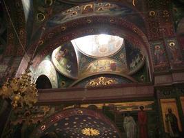 novo mosteiro aphon. abcásia foto