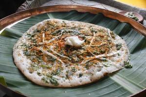 methi dosa - uma panqueca do sul da Índia com sabor a feno-grego