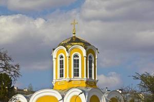templo de michael e theodore em chernigov foto