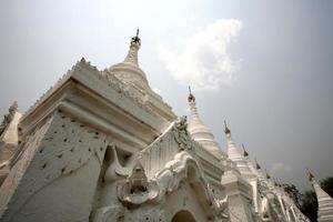 pagode de kuthodaw, mandalay foto
