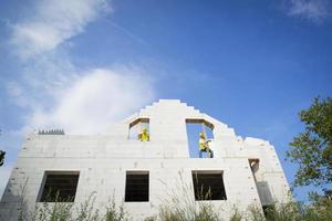 construção de casas foto