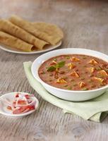 murmurar paneer, molho, comida indiana, índia foto