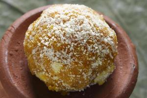 darbesh é um doce bolas feitas de bonde
