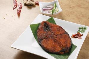peixe frito - de kerala foto