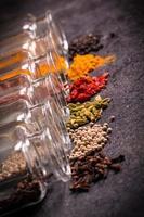 especiarias, ingredientes