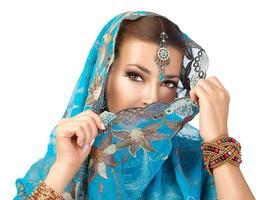 mulher étnica foto