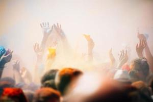 festival de holi foto