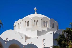 ilha de fira santorini grécia europa foto