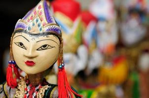 indonésia, bali, fantoche tradicional foto