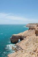 vista aérea costa do oceano kalbarri