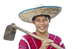 homem da tribo karen hill foto