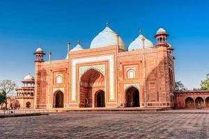 o maxilar. taj mahal. Agra, Uttar Pradesh. Índia foto