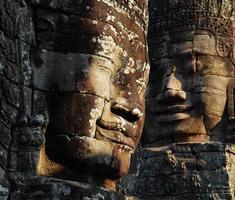templo de bayon, angkor thom foto