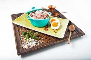 bagas de arroz orgânico foto