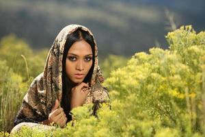 menina indonésia foto