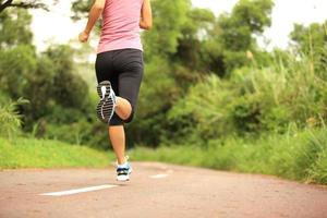 atleta corredor foto