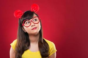 óculos redondos foto
