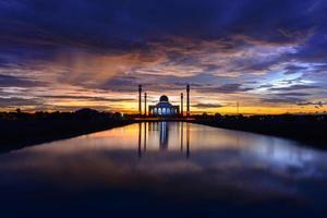 mesquita central songkhla, tailândia