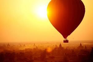 balão bagan foto