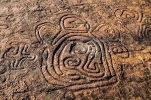 pinturas rupestres na república dominicana foto