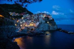 manarola- itália (cinque terre- local do patrimônio mundial da unesco) foto