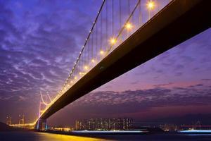 tsing ma bridge foto