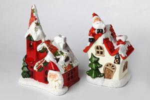 castiçais de natal foto