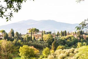 paisagem da cidade de Florença foto