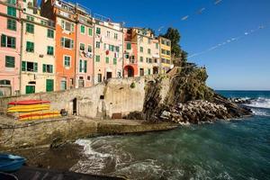 riomaggiore- itália (cinque terre- local do patrimônio mundial da unesco)