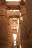 templo de karnak foto