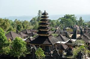 templo de pura besakih foto