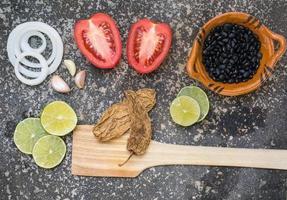 ingredientes alimentares mexicanos foto