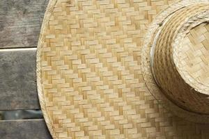 fundo de artesanato de bambu