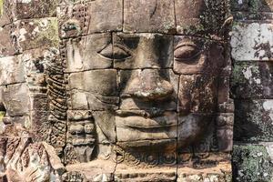 Templo Bayon. Siem Reap, Camboja foto