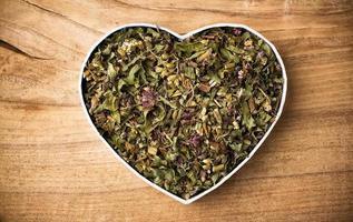 chá de ervas. foto