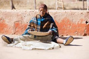 mulher africana foto