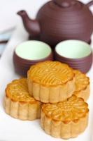 bolos de lua tradicionais vietnamitas foto