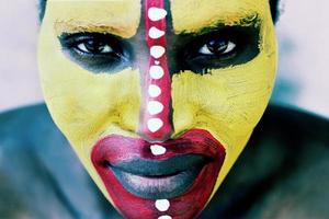 rosto tribal foto