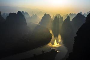 nascer do sol lijiang