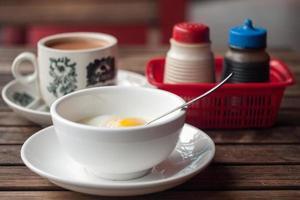 sudeste asiático rua comida café da manhã refeição foto