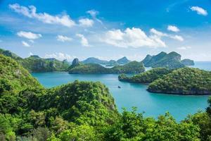 mar tailândia, ilha de mu ko ang thong foto