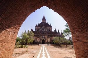 arquitetura pagode ncient kuthedaw paya foto