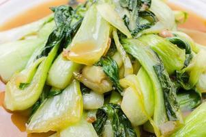 hinese bok choy vegetais verdes foto
