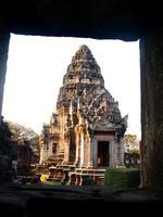 prasat hin pimai no parque histórico pimai, nakhon ratchasima, t foto