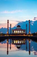 mesquita central songkhla tailândia foto