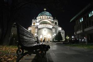 igreja de saint sava, belgrado foto