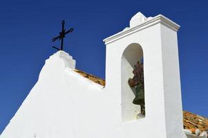 igreja em armacao de pera, portugal foto