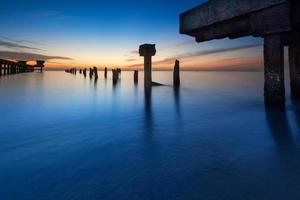 Khao Kao Seng Beach Songkhla, Tailândia. foto